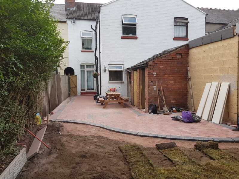 Block Paved Patio Installation Yardley